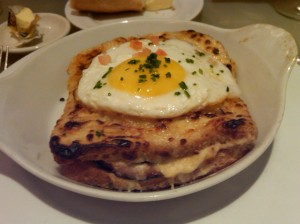 Croque Madame (The Brasserie, NYC)