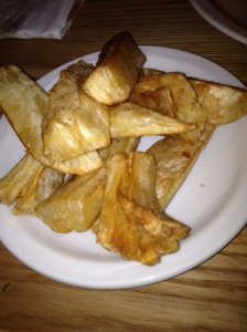 These Yucca Fries were not Yucc-y!