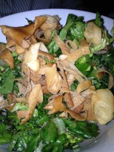 My Dad's favorite salad- Fattoush